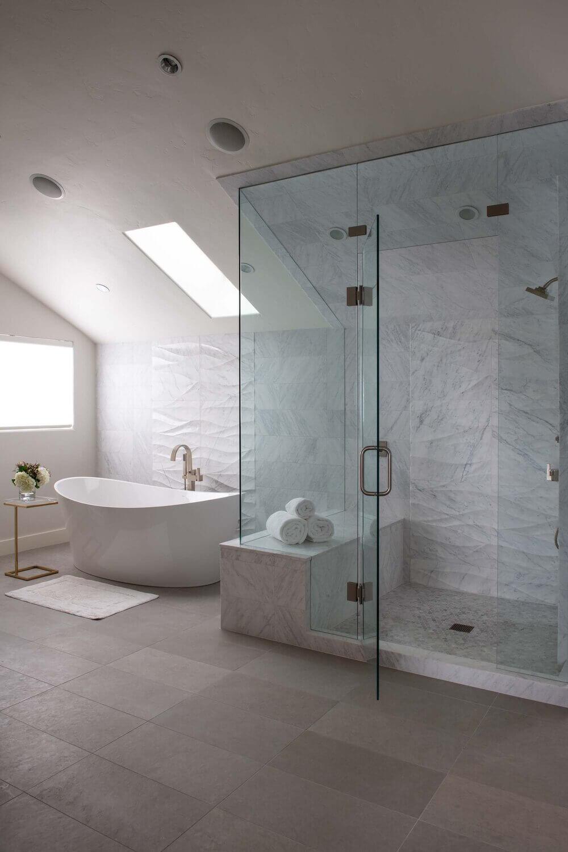 Borders Road Master Bath Beaver Creek Colorado Luxury Mountain Home