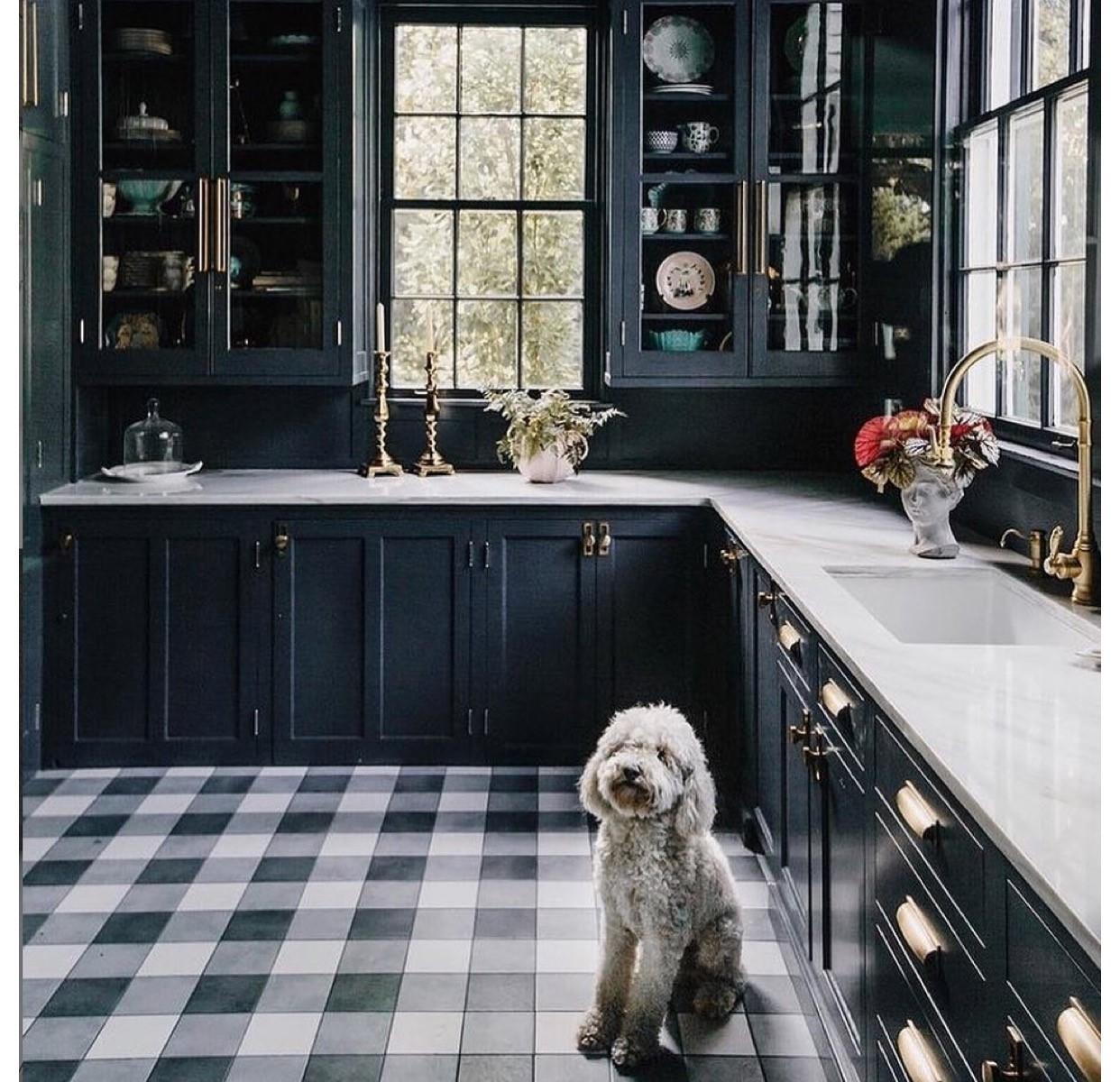 Chester Plaid Kitchen