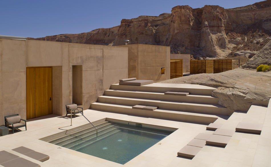 Amangiri, Utah - Aman Spa, Step Pool1