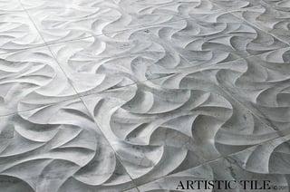 Fan Bianco Carrara Carved Marble.jpg