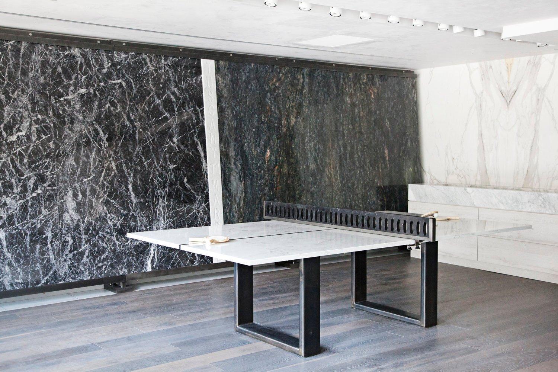 Kristin Dittmar Marble Ping Pong Table