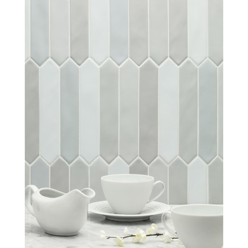 MATTE FINISH artistic tile Melange_Azul_Picket_Matte_Bright