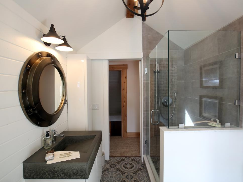 Rustic Bathroom Renovation