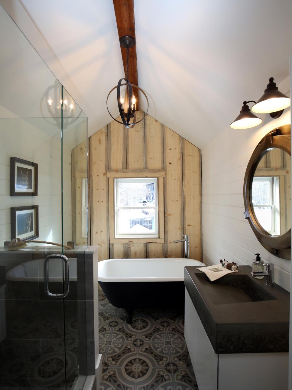 European encaustic tile   Bathroom Renovation