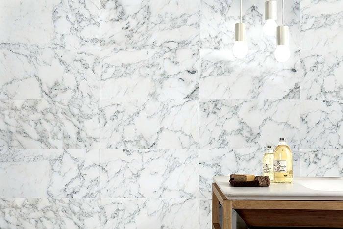 bathroom marble tile