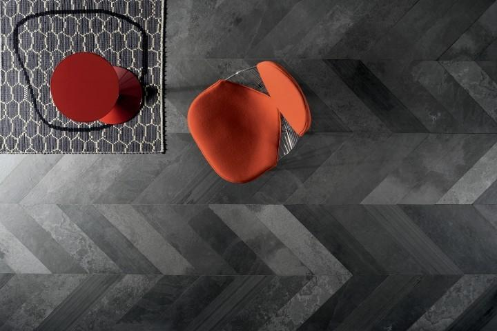 charcoal artistic tile Argon_Black_livingspace