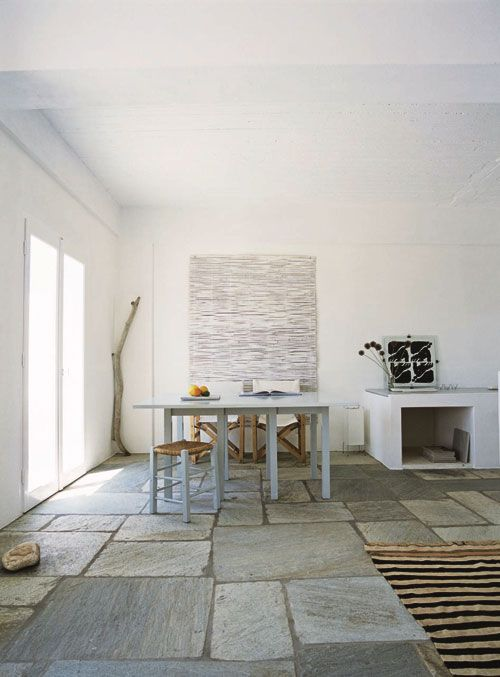 Greek Stone Flooring