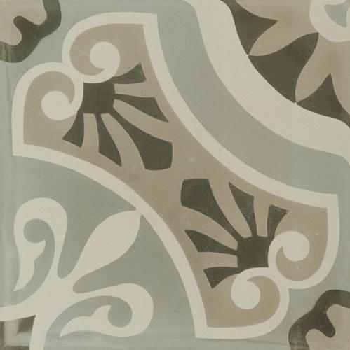 Hydraulic Grey Tile