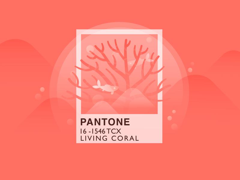 Pantone Color Living Coral